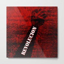 Fist Revolution Metal Print
