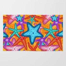 Starfish Pattern Design 2 Rug