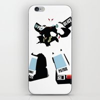 transformers iPhone & iPod Skins featuring Transformers G1 - Autobot Prowl by TracingHorses