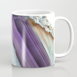 Purple Agate Slice Coffee Mug
