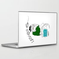 fear and loathing Laptop & iPad Skins featuring Fear and Loathing in Albuquerque (Breaking Bad) by Evan