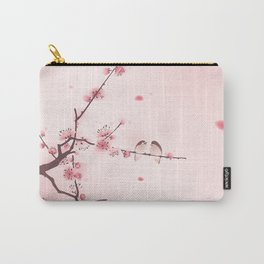 Oriental cherry blossom in spring 005 Carry-All Pouch