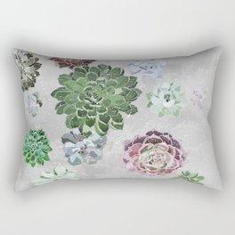 Simple succulents Rectangular Pillow