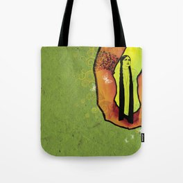 For you - green Tote Bag