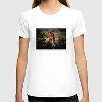 siren T-shirts featuring Siren by Galen Valle