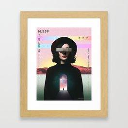 Them and Me Framed Art Print