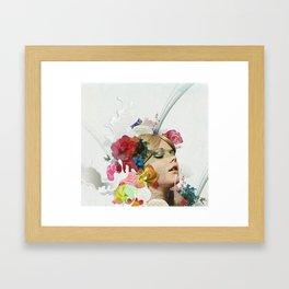 I am your girl Framed Art Print