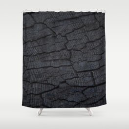 Old End Grain Shower Curtain