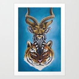 Totem II Art Print
