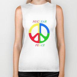 Nuclear peace. Biker Tank