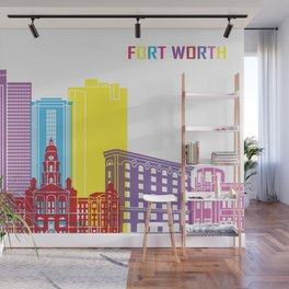 Fort worth Wall Mural