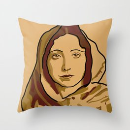 Anaïs Nin Throw Pillow