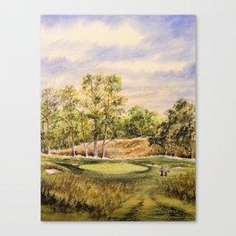 Merion Golf Course 17th Hole Canvas Print
