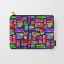 Rainbow Colorful Brush Carry-All Pouch