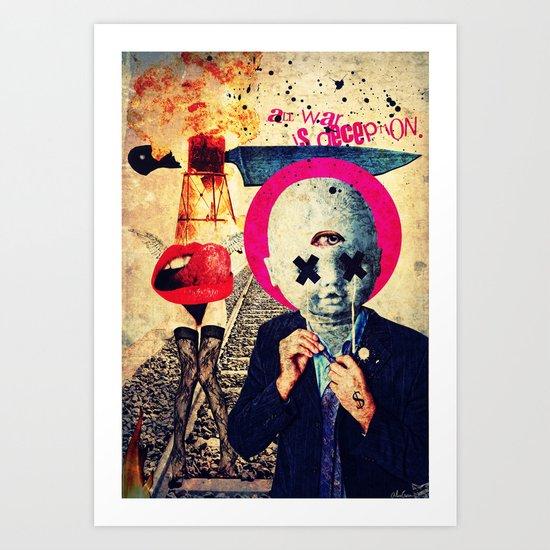 All War Is Deception Art Print