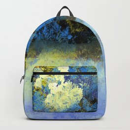Bright Blue and Golden Pond Backpack