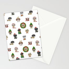 Christmas Puppies Stationery Cards
