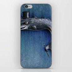 Dandy Whale iPhone & iPod Skin