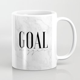 GOAL DIGGER SIGN, Success Quote,Marble Decor,Girls Room Decor,Fashion Print,Modern Art,Office Wall A Coffee Mug