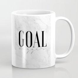GOAL DIGGER SIGN, Success Quote,Marble Decor,Girls Room Decor,Fashion Print,Modern Art,Office Wall A Coffee Mug