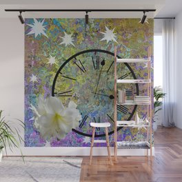 Time Explodes Wall Mural