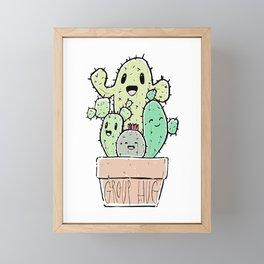 Group Hug! Framed Mini Art Print