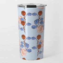 BlueOrangeRose Travel Mug