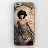 rock iPhone & iPod Skins featuring Rock the Casbah by Rudy Faber