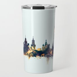 Moscow Russia Skyline Travel Mug