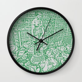 """Hearth and Home"" by ICA PAVON Wall Clock"