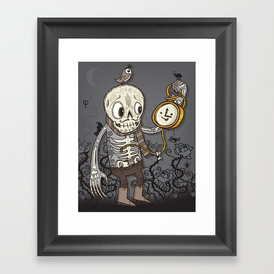 Late For a Very Important Date Framed Art Print