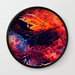 Above Wall Clock
