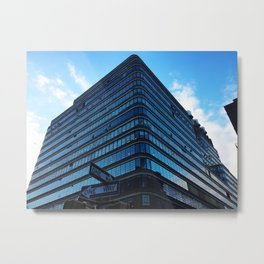 Blue NYC Metal Print