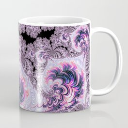 Pink and Purple Fractal Coffee Mug