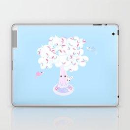 Kawaii Tree Clouds Laptop & iPad Skin
