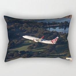 Virgin Australia 737 Rectangular Pillow