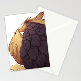 Real Monsters- Social Anxiety Stationery Cards