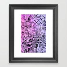 Funky Town Pt. 2 Framed Art Print