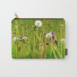 Europan goldfinch in late Spring Carry-All Pouch