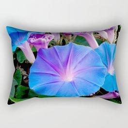 Morning Glories Rectangular Pillow