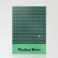 nemo Stationery Cards featuring Finding Nemo by Matt Bacon
