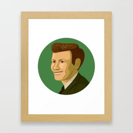 Queer Portrait - Billy Tipton Framed Art Print