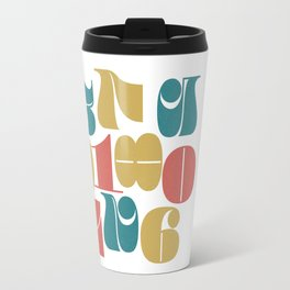 Numerals Travel Mug