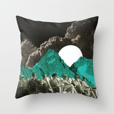 Space show Throw Pillow