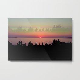 Ibiza sunset Metal Print