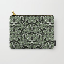 Ornate Camo Print Pattern Carry-All Pouch