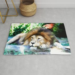 Lion Art One Rug