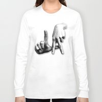 los angeles Long Sleeve T-shirts featuring Los Angeles by big tony
