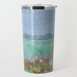 Snowing Travel Mug