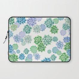 Floral succulent pattern Laptop Sleeve
